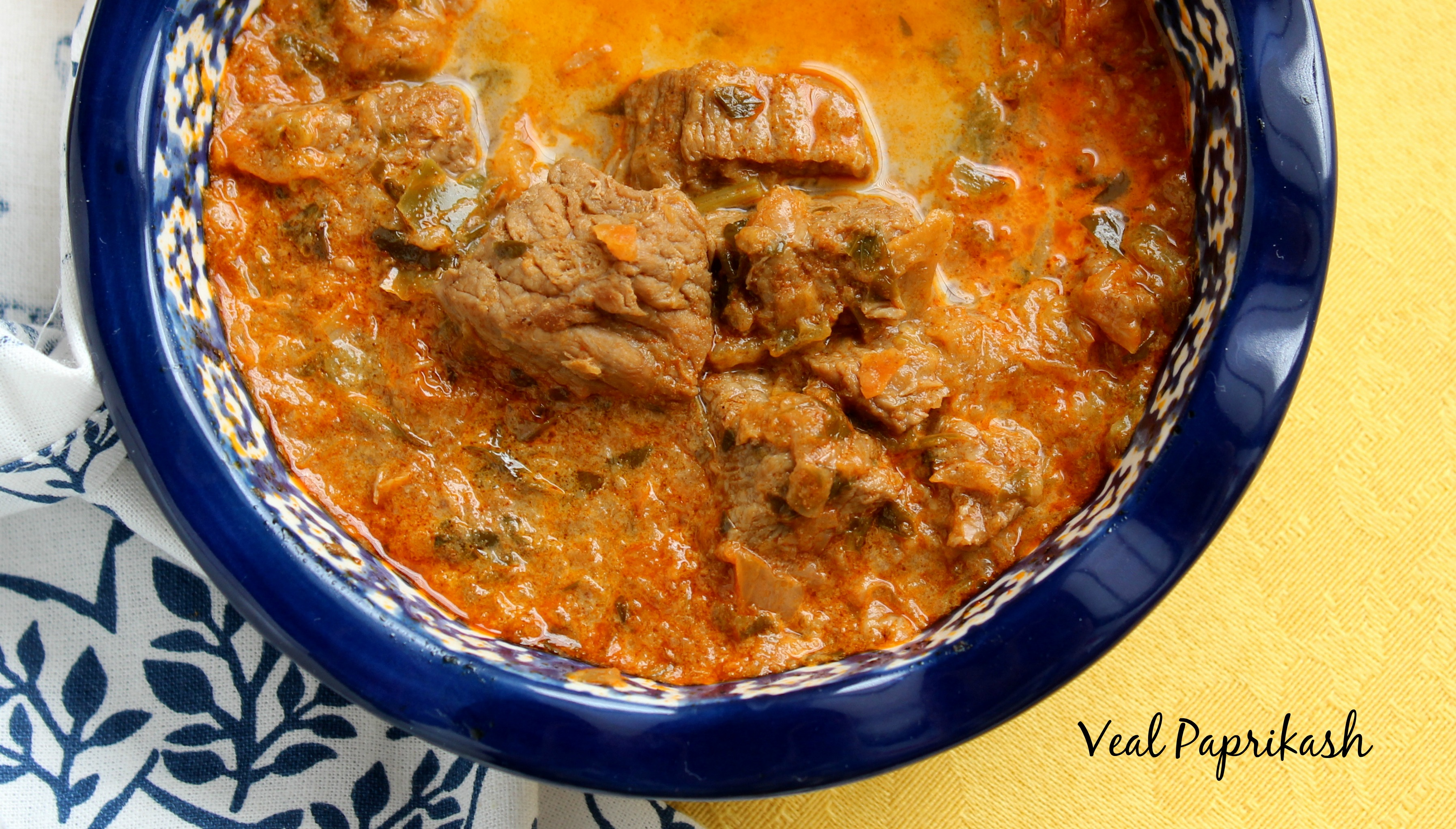 Too Much Pepper in THIS Paprikash!: Mama Buddha's Veal Paprikash