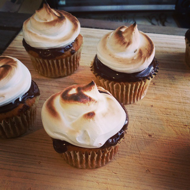 #smores #cupcakes # marshmallows #sogood