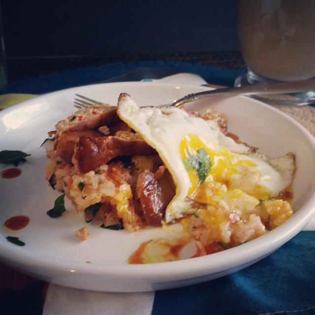 Still sticking to my ribs #breakfast #eggs #foodporn #sausage