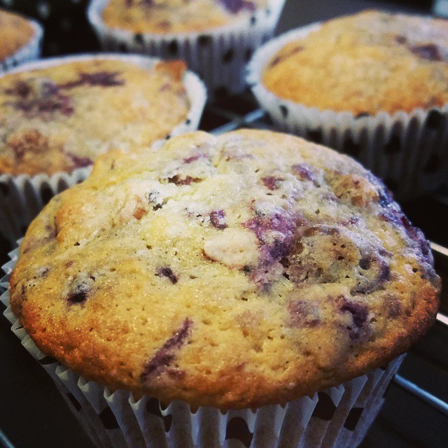 It's a #muffin morning!  #breakfast #berries